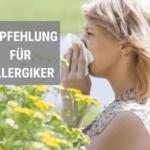 Masken Empfehlung für Allergiker (Pollenmaske)