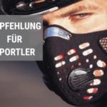 Feinstaubmasken Empfehlung für Sportler