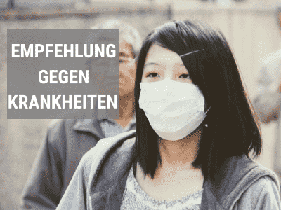 Atemschutzmasken gegen Krankheiten (Bakterien & Viren)