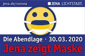 Jena zeigt Maske